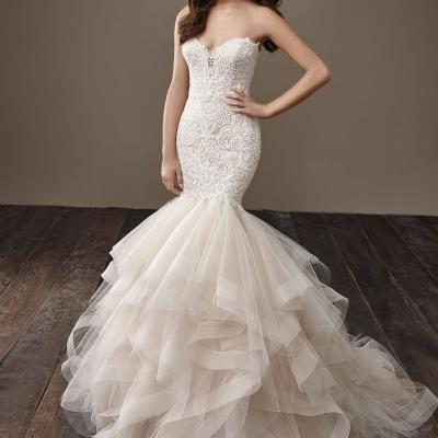 Badgley Mischka's Wedding Dresses for Fall 2018