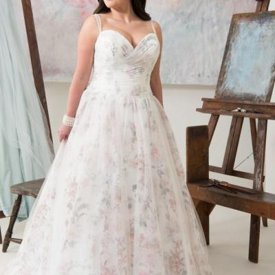 6 Plus Size Wedding Dresses We Love From Callista