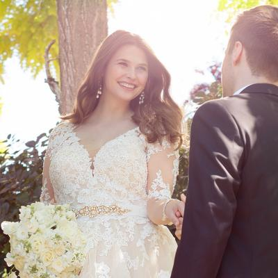 4 Long Sleeved Wedding Dresses Perfect For The Plus Sized Bride