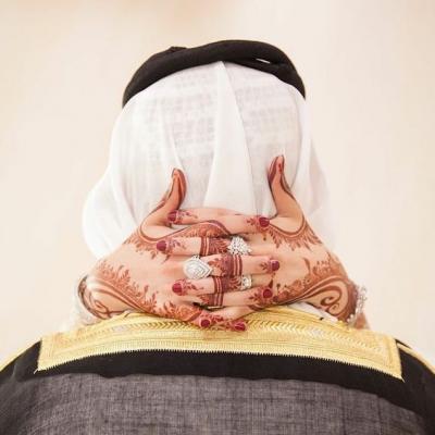 نقش حناء اماراتي للعرايس