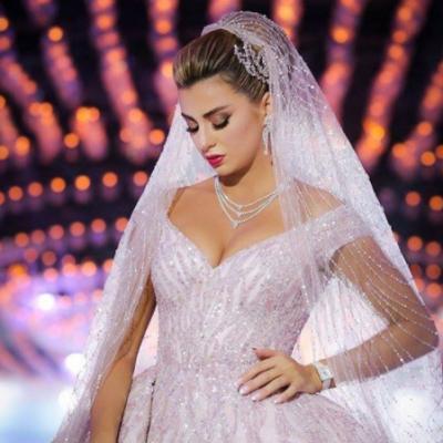 اجمل تسريحات عرايس من حفلات زفاف اقيمت في منطقة الشرق الأوسط