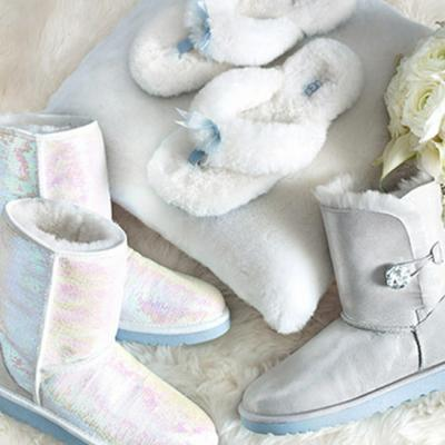 New Trend: The UGG Wedding Shoe Collection