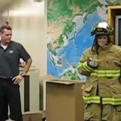 Embedded thumbnail for Fireman Proposes to Teacher