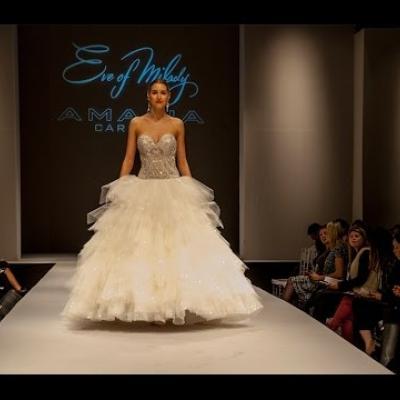 Embedded thumbnail for عرض أزياء إيف ميلادي وأماليا كرارا لفساتين الزفاف لربيع 2015