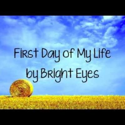 Embedded thumbnail for Bright Eyes - First Day Of My Life