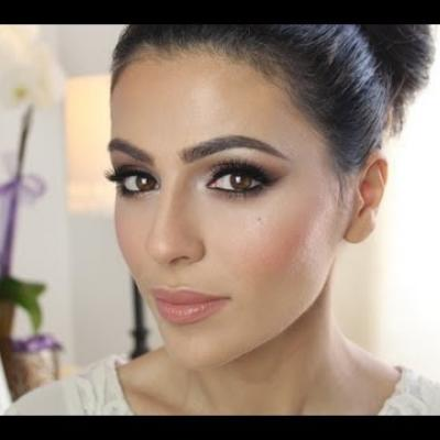 Embedded thumbnail for Bridal Makeup Tutorial By Simply Sona