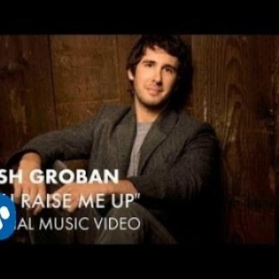 Embedded thumbnail for Josh Groban - You Raise Me Up
