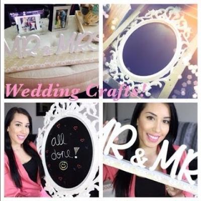 Embedded thumbnail for اصنعي لافتات مرحة لديكور حفل زفافك