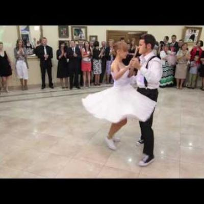 Embedded thumbnail for Swing as the First Dance