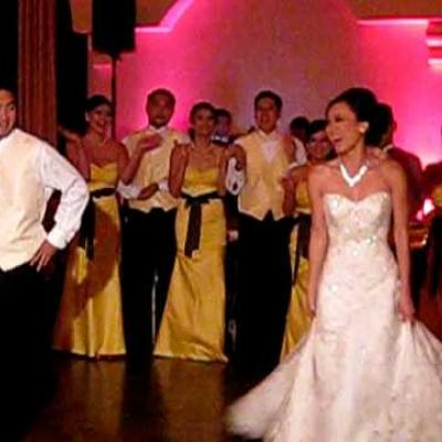 Embedded thumbnail for Funny Wedding Dance 2