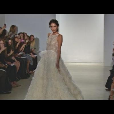Embedded thumbnail for Kelly Faetanini Spring 2016 Bridal Collection Runway Show