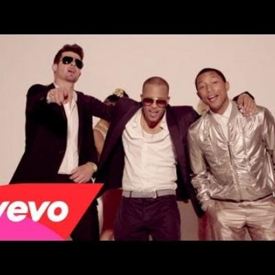 Embedded thumbnail for Robin Thicke - Blurred Lines