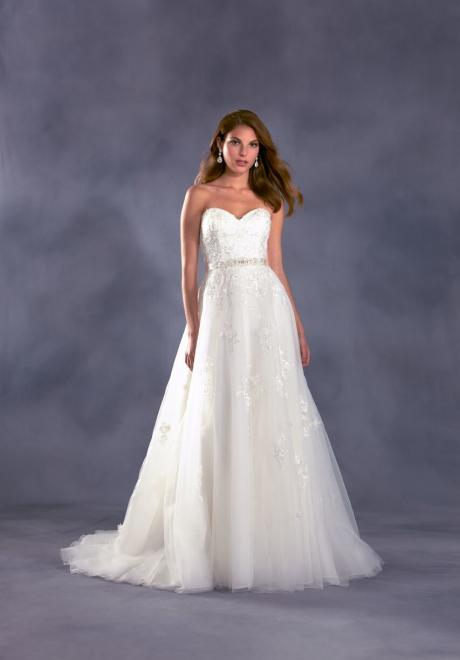 Alfred Angelo Disney Wedding Dress 7