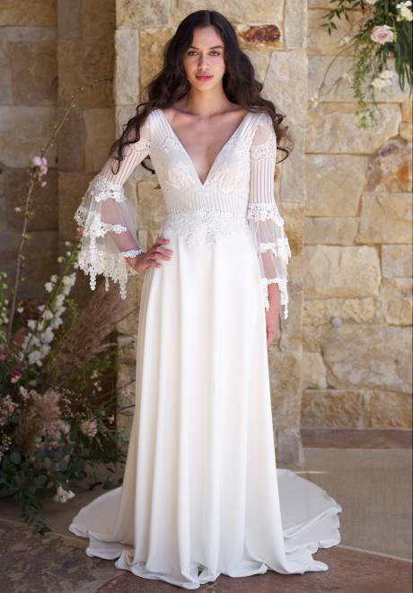 2018 Spring Wedding Dress Collection by Claire Pettibone