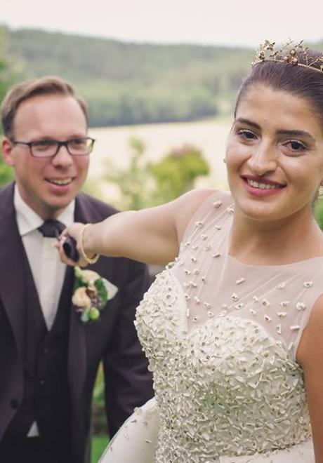 Majd and Max Wedding 9