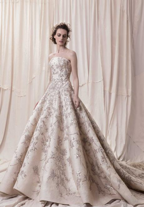 The 2018 Wedding Dress Collection by Krikor Jabotian