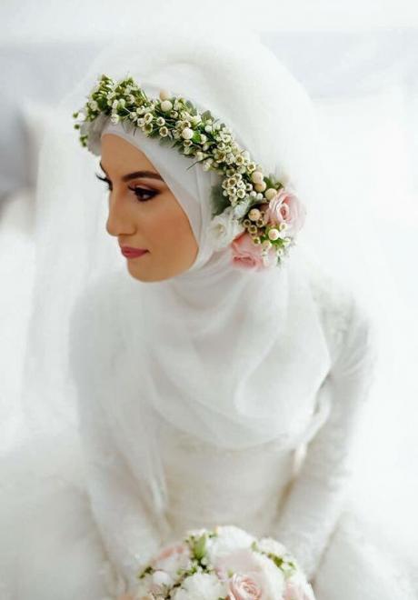 20 Beautiful Hijab Bridal Looks You Will Love