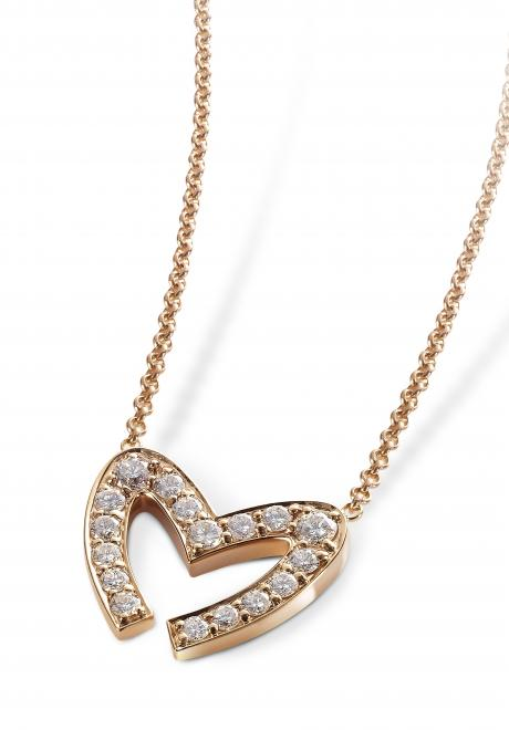 Love M Pendant by Mouawad