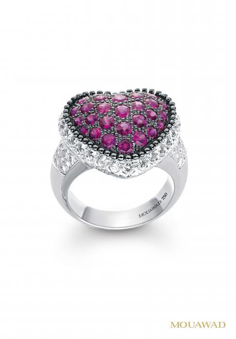 Rosette Ring Mouwad
