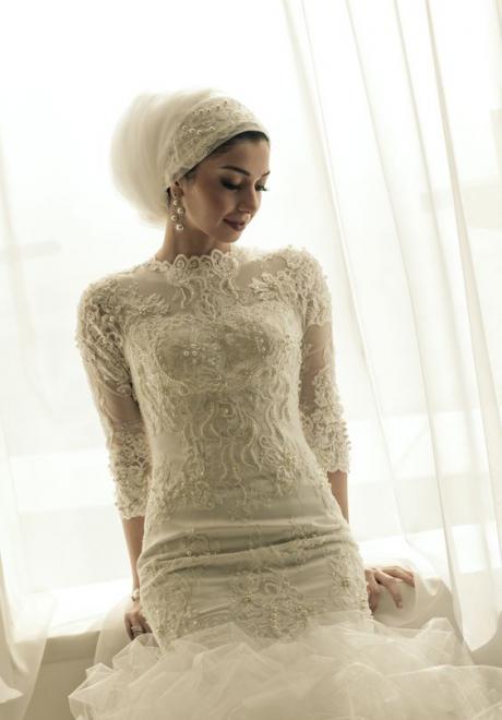 صور حجاب عروس