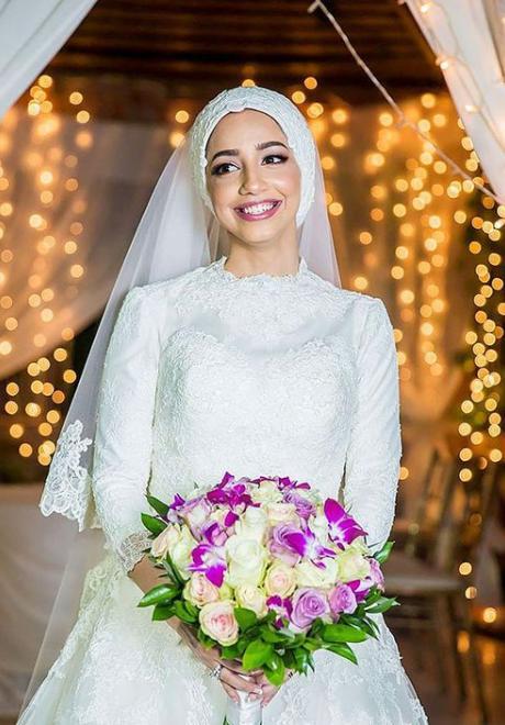 حجاب عروس
