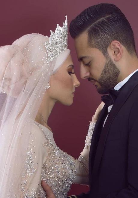 حفل زفاف نيرمين ومحمد في الكويت 9