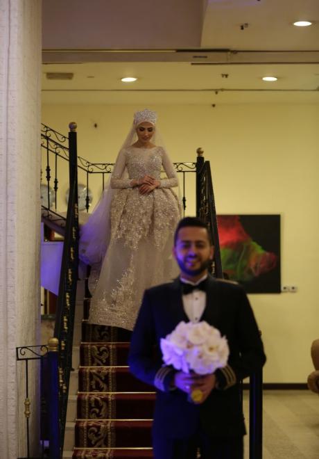 حفل زفاف نيرمين ومحمد في الكويت 11