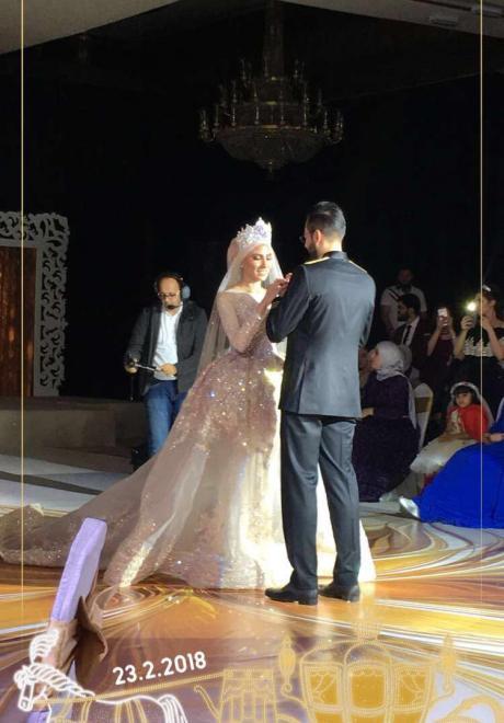 حفل زفاف نيرمين ومحمد في الكويت 12
