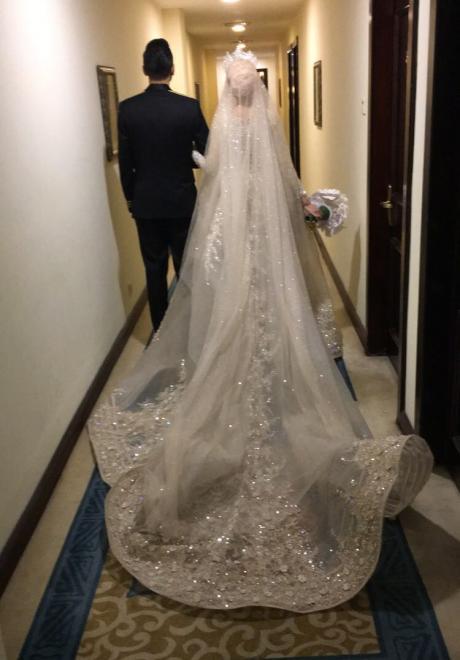 حفل زفاف نيرمين ومحمد في الكويت 13