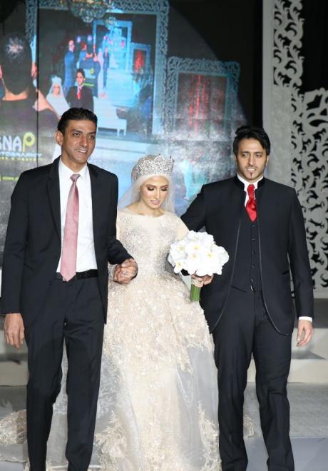 حفل زفاف نيرمين ومحمد في الكويت 14