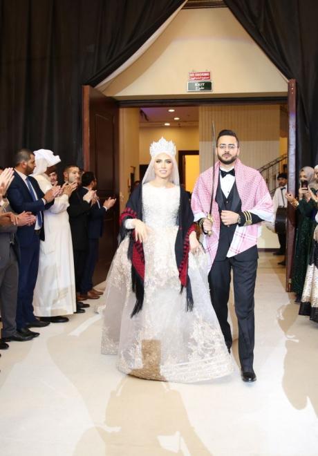 حفل زفاف نيرمين ومحمد في الكويت 15