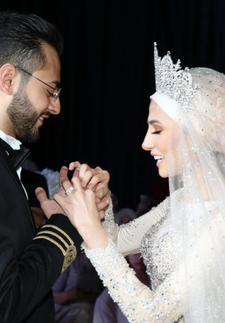 حفل زفاف نيرمين ومحمد في الكويت 16