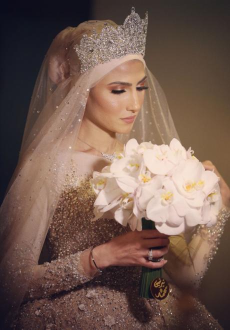 حفل زفاف نيرمين ومحمد في الكويت 17