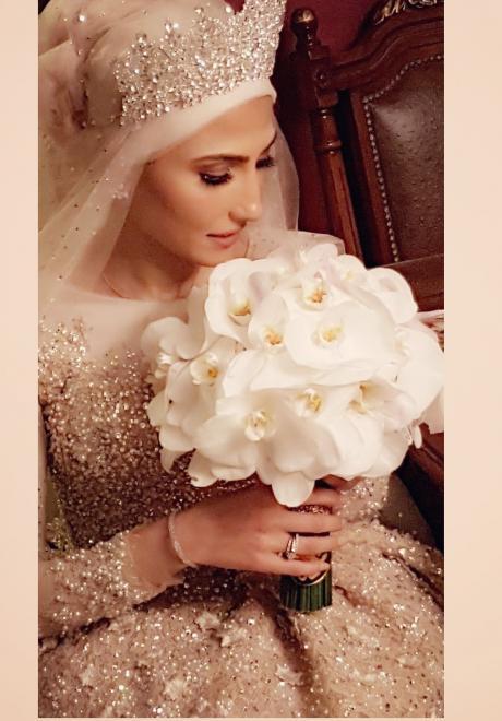 حفل زفاف نيرمين ومحمد في الكويت 18