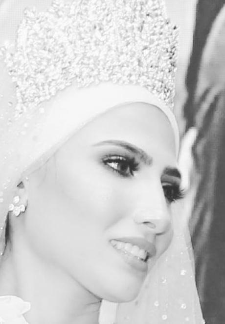 حفل زفاف نيرمين ومحمد في الكويت 1