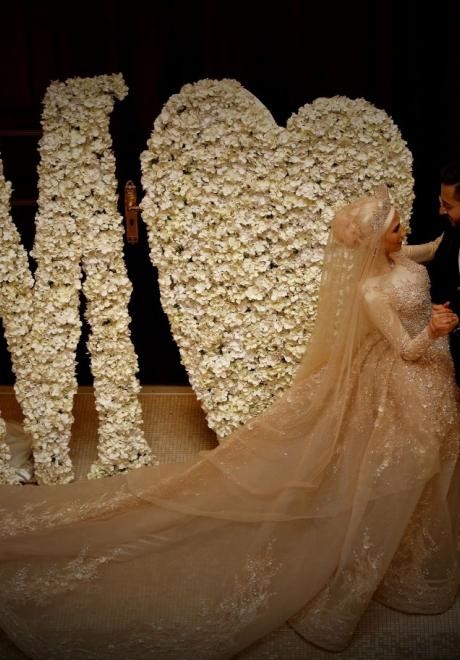 حفل زفاف نيرمين ومحمد في الكويت 19