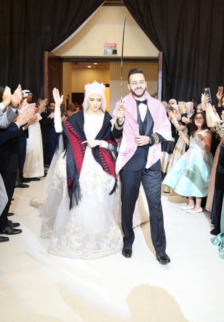 حفل زفاف نيرمين ومحمد في الكويت 27