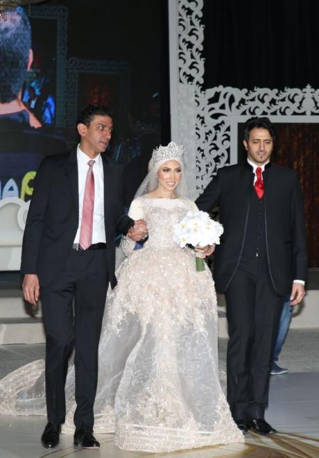 حفل زفاف نيرمين ومحمد في الكويت 28