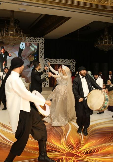 حفل زفاف نيرمين ومحمد في الكويت 29