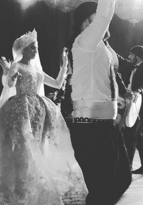 حفل زفاف نيرمين ومحمد في الكويت 30
