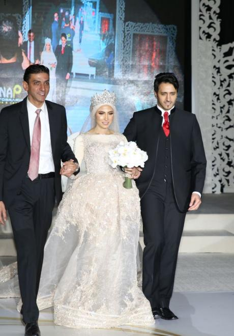 حفل زفاف نيرمين ومحمد في الكويت 31