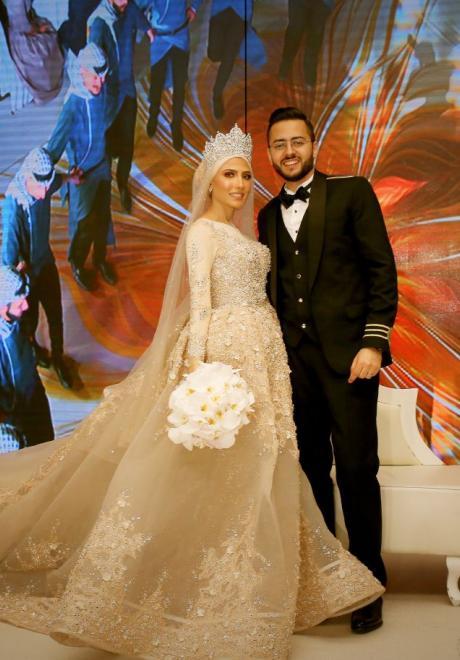 حفل زفاف نيرمين ومحمد في الكويت 32