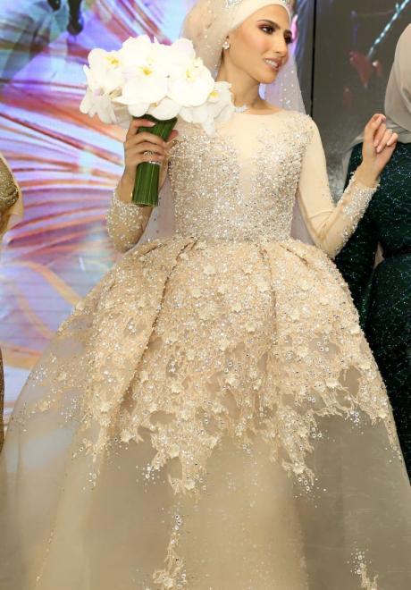 حفل زفاف نيرمين ومحمد في الكويت 33