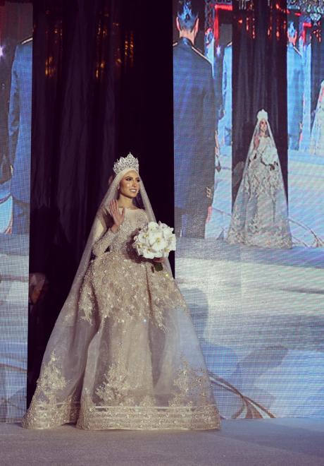 حفل زفاف نيرمين ومحمد في الكويت 34