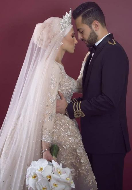 حفل زفاف نيرمين ومحمد في الكويت 2
