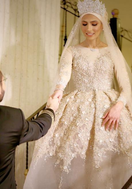 حفل زفاف نيرمين ومحمد في الكويت 3