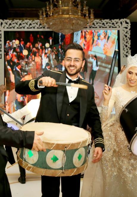 حفل زفاف نيرمين ومحمد في الكويت 4