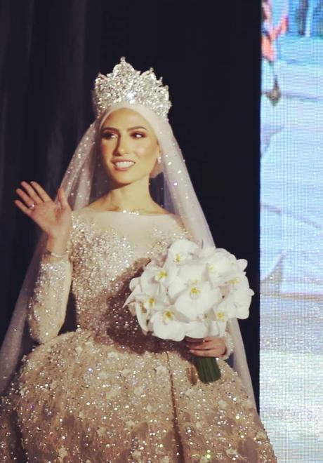 حفل زفاف نيرمين ومحمد في الكويت 5