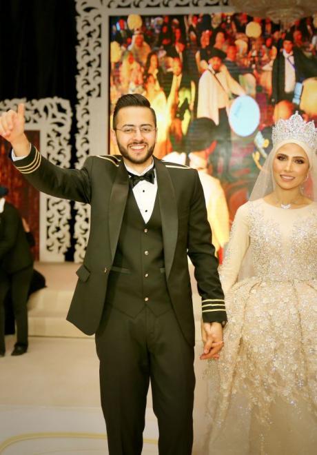 حفل زفاف نيرمين ومحمد في الكويت 7