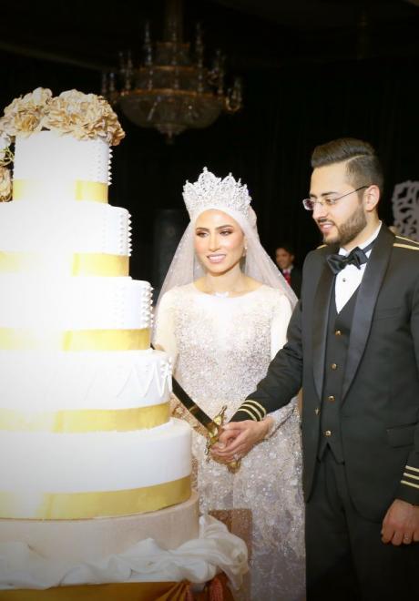 حفل زفاف نيرمين ومحمد في الكويت 8